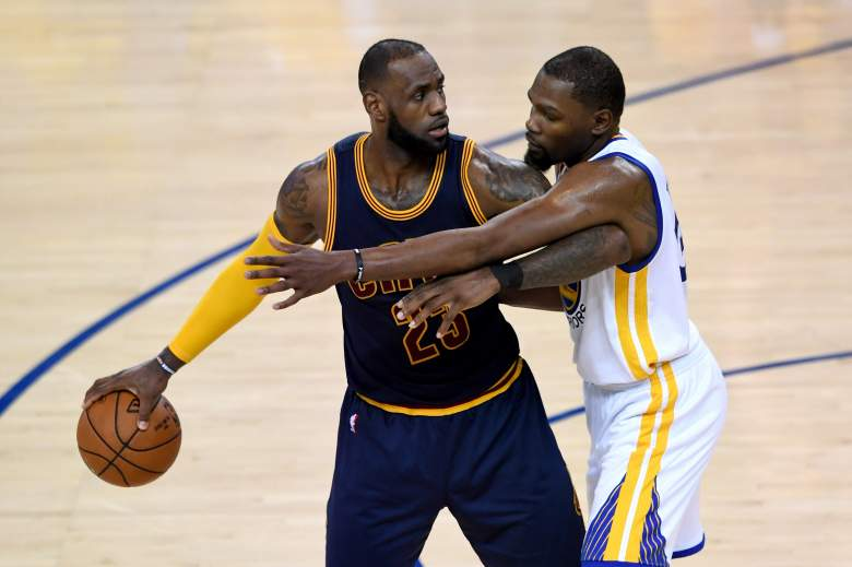 kevin durant, lebron james, stats, how many championships, highlights,