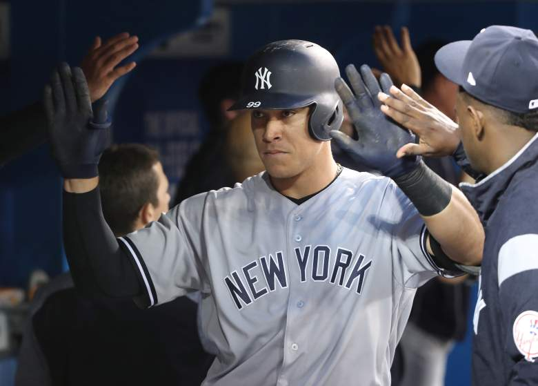 aaron judge, mlb power rankings, yankees