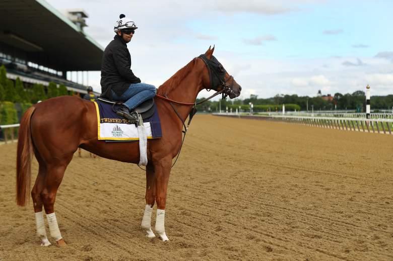 belmont, 2017, horses, list, jockeys, today, time, channel