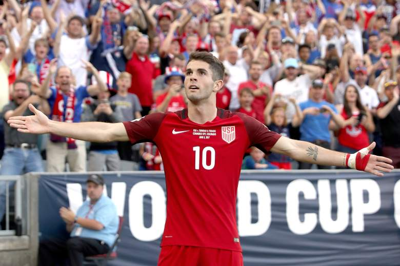 christian pulisic, age, how old, salary, who what team play