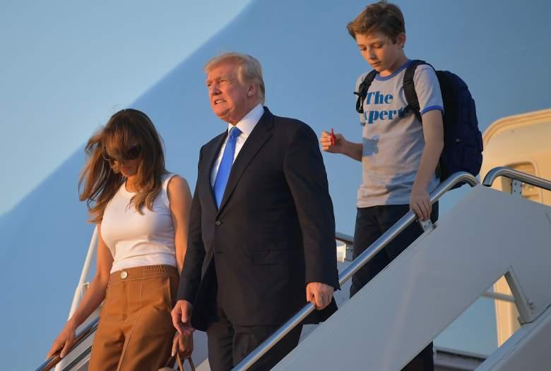 Barron Trump Expert T-shirt