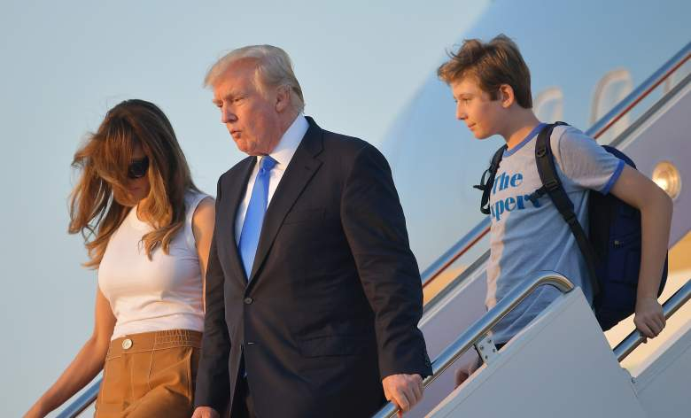 barron trump, barron trump moves to white house