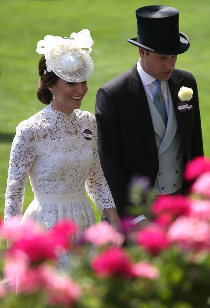 Kate Middleton white dress