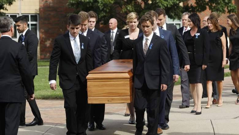 otto warmbier funeral, otto warmbier