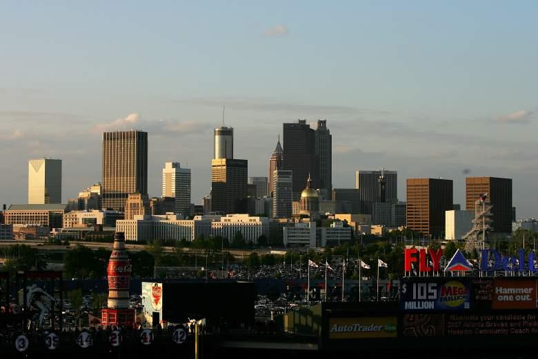 Atlanta skyline, Atlanta georgia skyline, Atlanta georgia city skyline