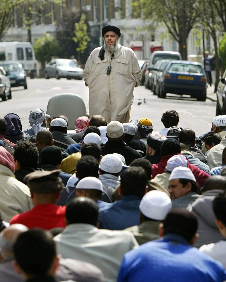 abu hamza, finsbury park mosque