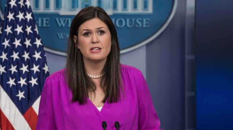 Sarah Huckabee Sanders press briefing, Brian Karem, Sarah Huckabee Sanders video