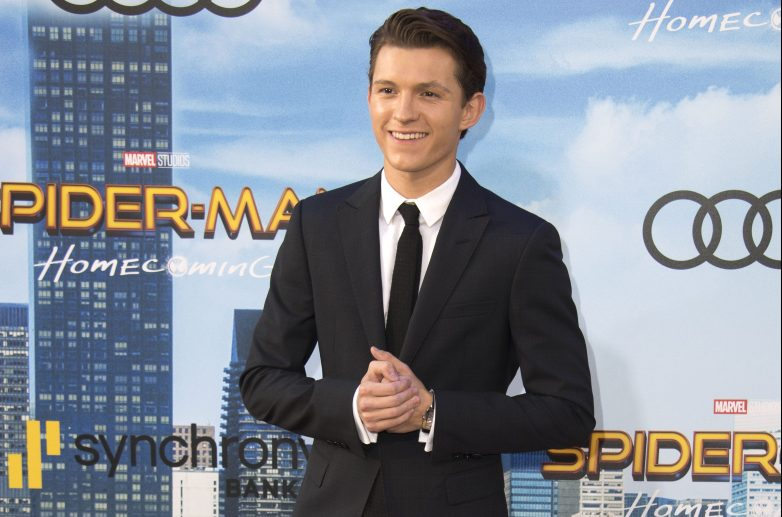 Tom Holland, Tom Holland red carpet, Tom Holland spider-man premiere
