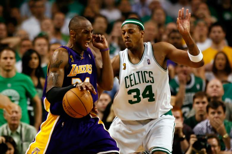 los angeles lakers vs. boston celtics, how many championships, rivalry,