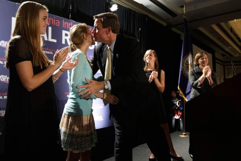 Lisa Collis, Mark Warner wife, Mark Warner daughters, Mark Warner family