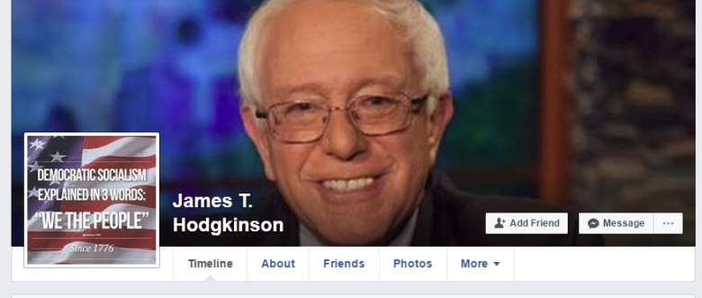 james hodgkinson, james hodgkinson illinois, james hodgkinson facebook, james hodgkinson bernie sanders
