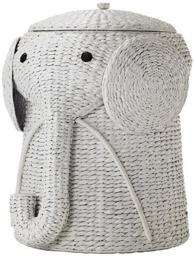 home decorators collection animal bathroom hamper, elephant laundry hamper, wicker laundry hamper, cute laundry hamper, kids laundry hamper, baby laundry hamper, best laundry hampers for nursery, laundry hamper for nursery, best nursery hampers, nursery hampers
