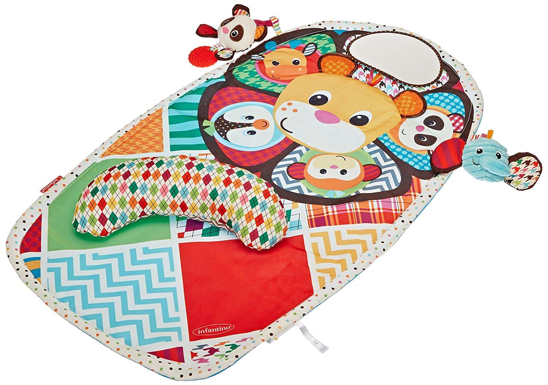 infantino peek & play tummy time activity mat, baby activity mat, best baby activity mat, playmat, best playmat, tummy time mat, best tummy time mat