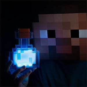 minecraft potion lamp, minecraft potion, minecraft lamp