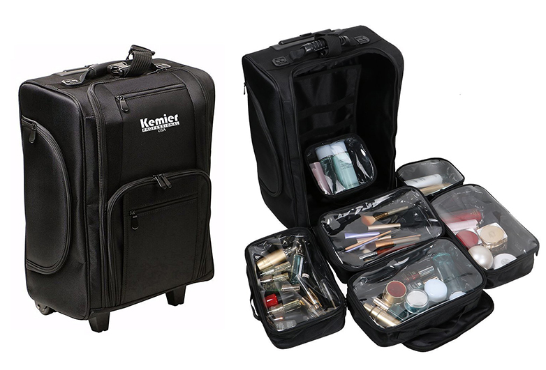 13 Best Rolling Makeup Cases Your