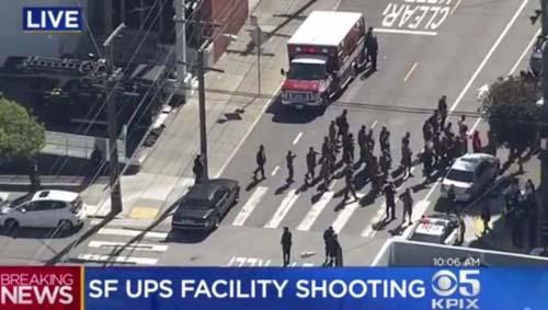 UPS Driver Shooting