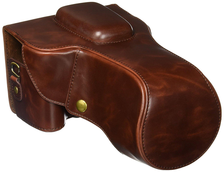 leather camera case, best camera case, slr camera case, camera lens case