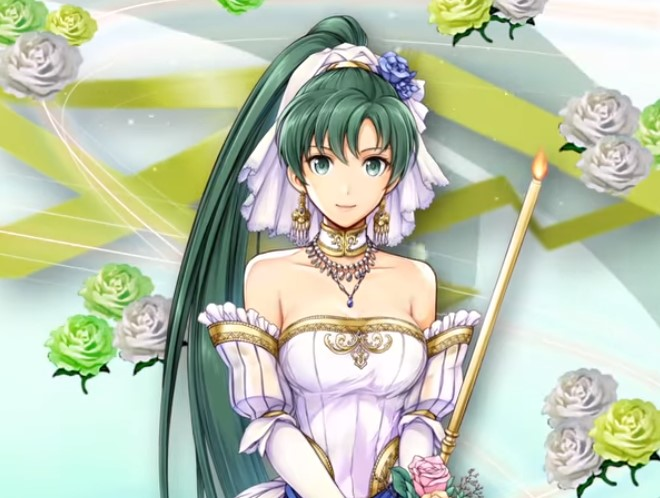 fire emblem heroes bridal blessings, fire emblem heroes lyn