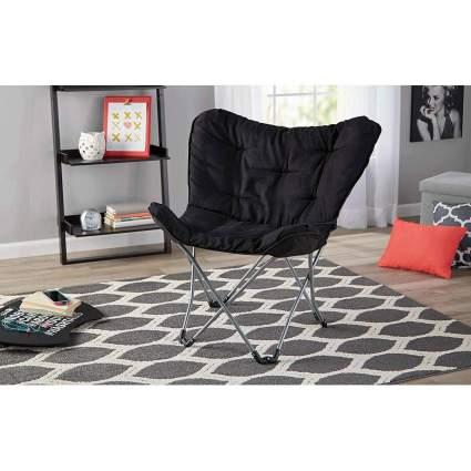 dorm chair, butterfly chair