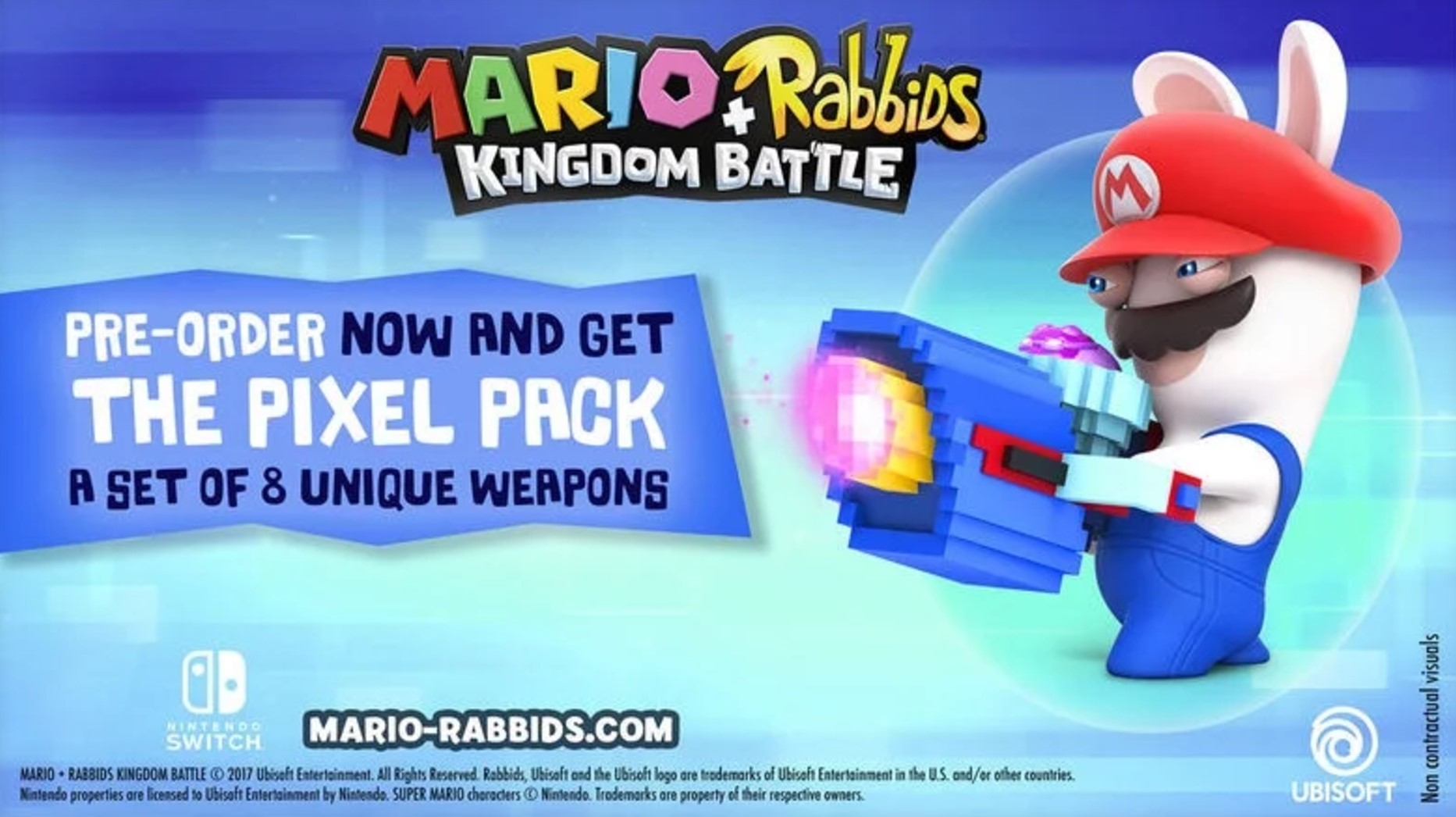 mario + rabbids kingdom battle, mario + rabbids kingdom battle pre order, mario + rabbids kingdom battle collectors edition