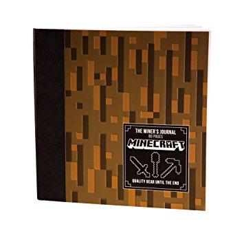 minecraft journal, minecraft notebook, minecraft