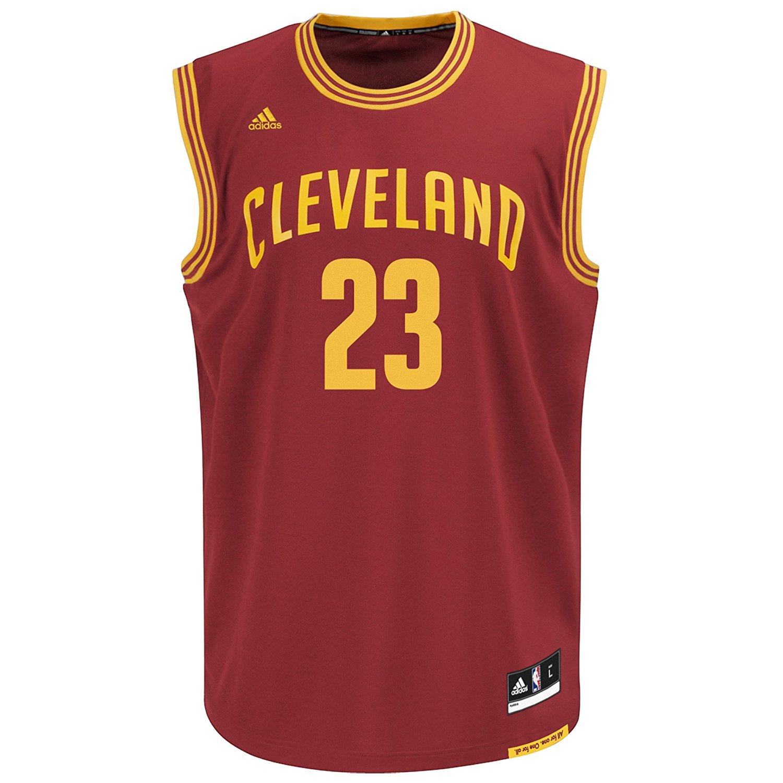 Cleveland Cavaliers LeBron James #23 Men's Replica Jersey