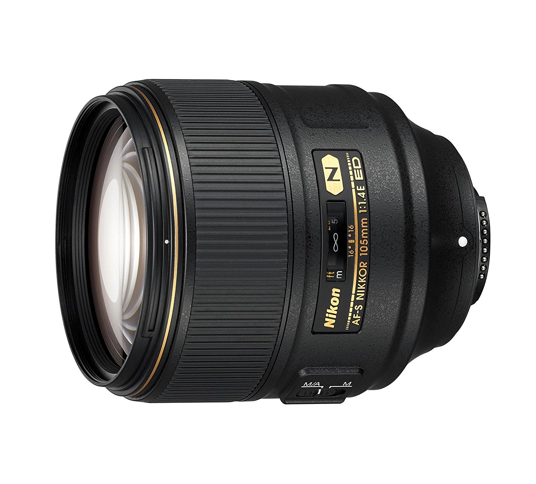 Nikon 105mm f1.4 lens