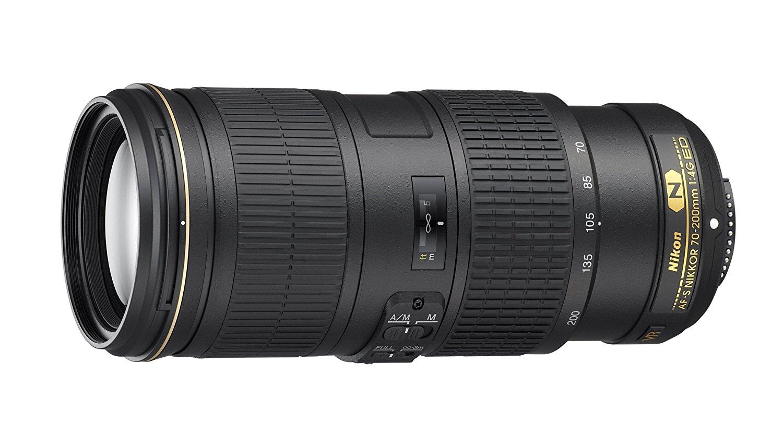 Nikkor 70-200mm f4 lens
