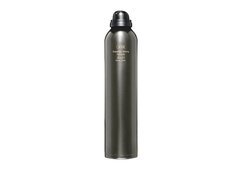 Image of gunmetal grey can of hair spray