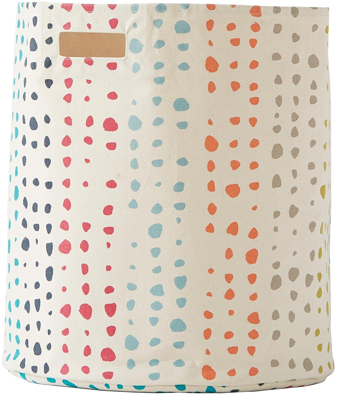 pehr designs painted dots hamper, polka dot hamper, rainbow hamper, cute hamper, kids laundry hamper, baby laundry hampers, best laundry hampers for nursery, laundry hampers for nursery, best nursery hampers, nursery hampers