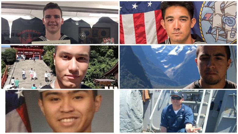 uss fitzgerald victims, uss fitzgerald sailors killed