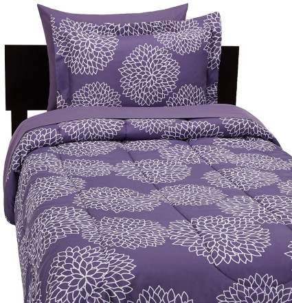 cute dorm bedding, floral bedding