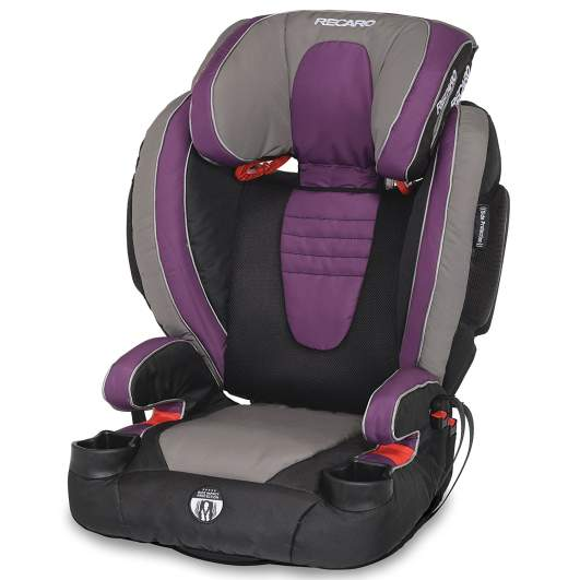 recaro performance high back booster car seat, high back booster, booster seat, booster seat for toddlers, recaro booster seat, safe booster seat, sturdy booster seat