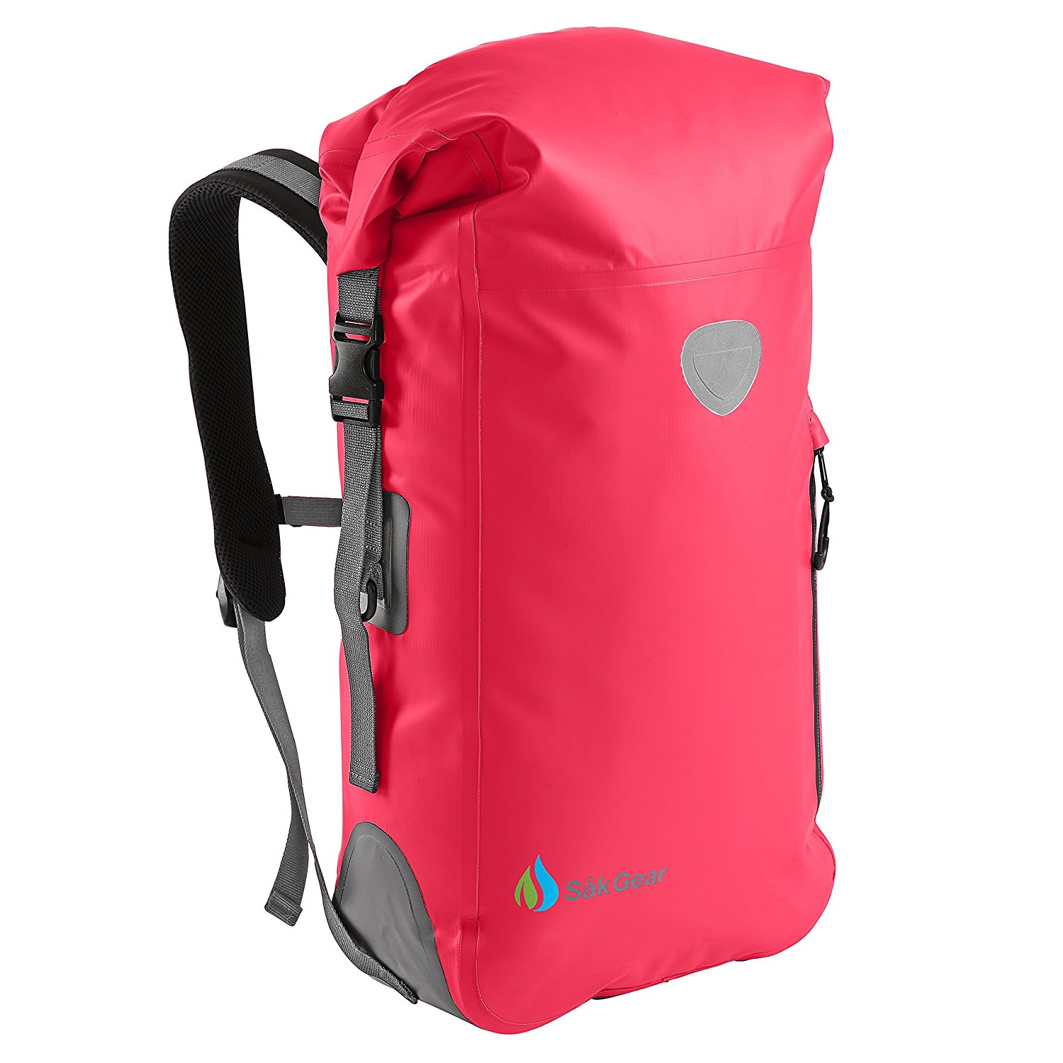 waterproof backpack hiking, sak gear, roll top