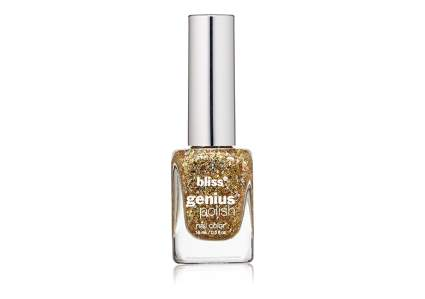 gold nail polish, metallic nail polish, gold glitter polish