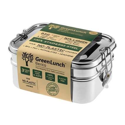 stainless steel lock top bento box