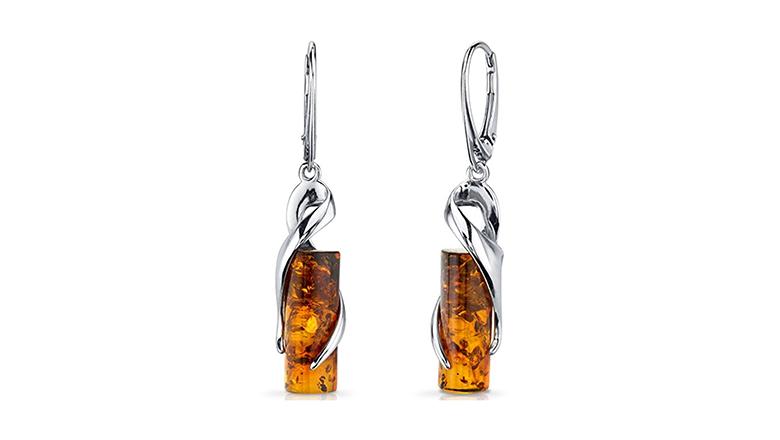 Amber, amber jewelry, Baltic amber, amber earrings, drop earrings