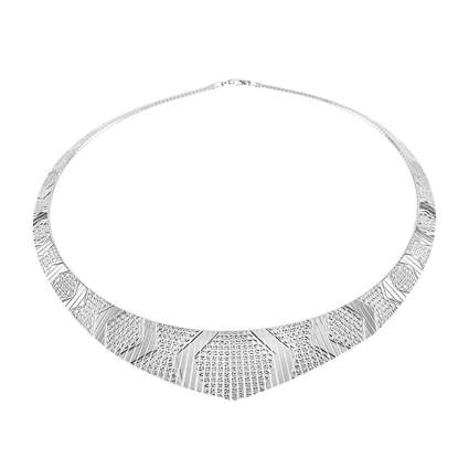 sterling silver cleopatra collar necklace