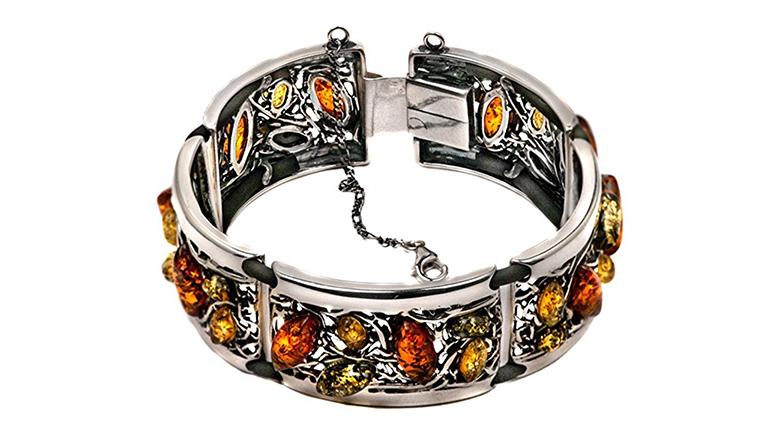 Amber, amber jewelry, amber bracelet, Baltic amber, link bracelet, bracelets for women