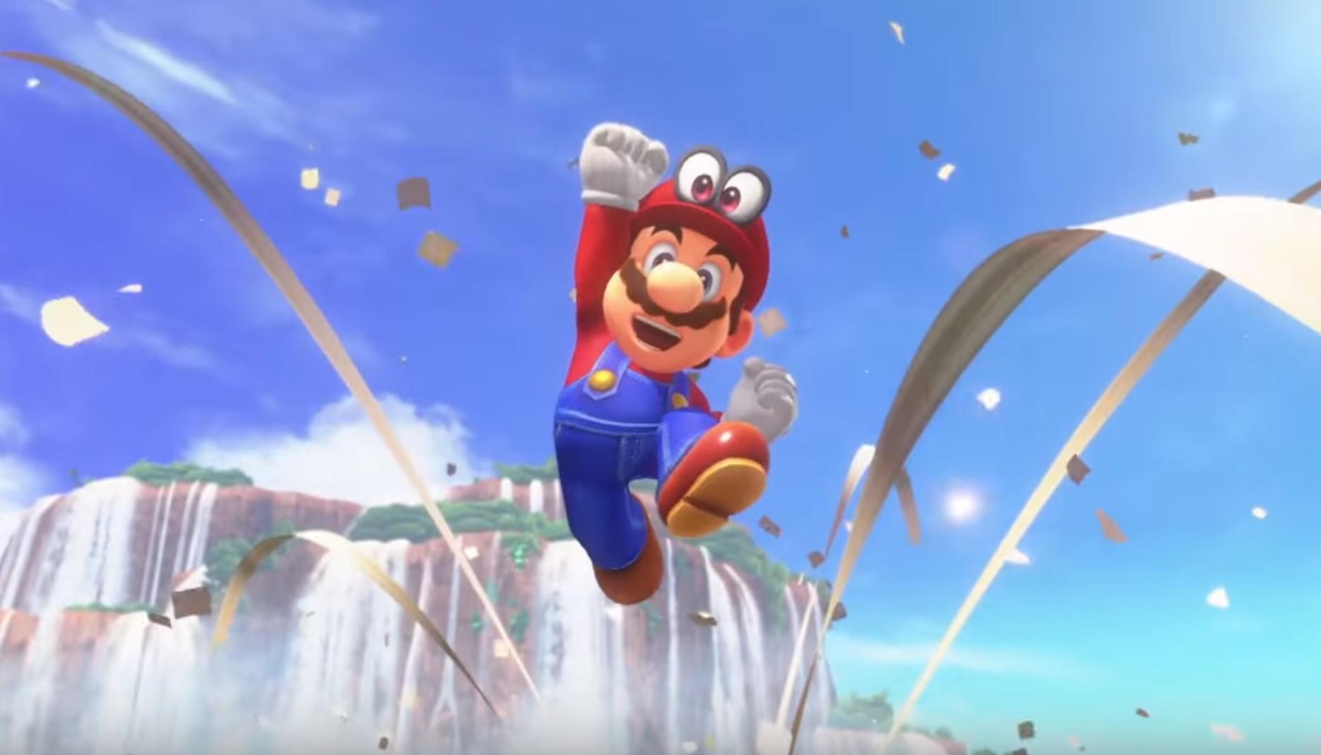 Super Mario Odyssey, super mario odyssey trailer, super mario odyssey e3