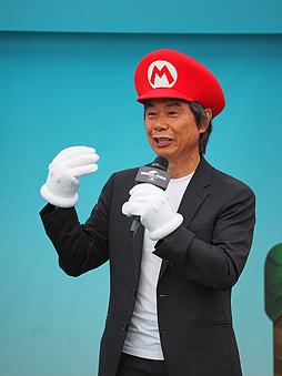super nintendo world, shigeru miyamoto, super nintendo world groundbreaking