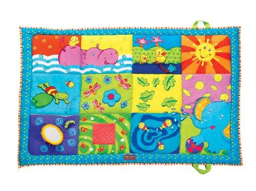 tiny love super mat, best baby activity mat, baby activity mat, playmat, best playmat, portable playmat