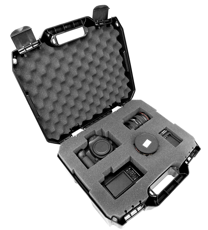 tough xl hard case, best camera case, slr camera case, camera lens case