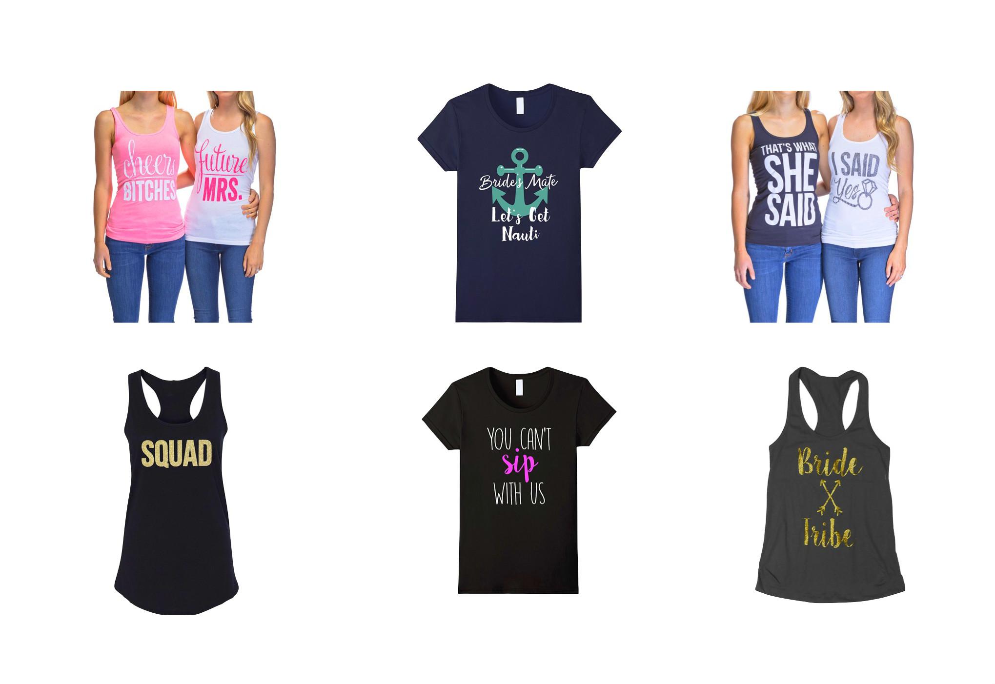 bachelorette party shirts, bachelorette shirts, bridal party shirts, bachelorette t shirts, bridesmaid shirts, bachelorette tank tops