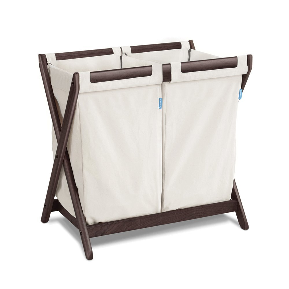 uppababy hamper insert, best laundry hampers for nursery, laundry hampers for nursery, canvas laundry hamper, dual sorting laundry hamper, neutral laundry hamper, stylish laundry hamper, best nursery hampers, nursery hampers