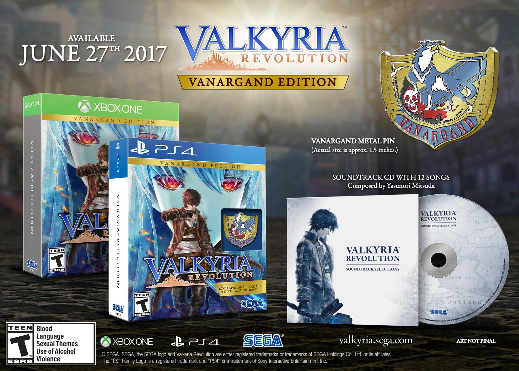 Valkyria Revolution Vanargand Edition