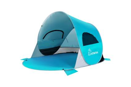 WolfWise Easy Pop Up Beach Tent