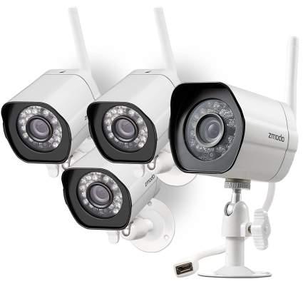 zmodo smart wireless camera, home security cameras, wireless security cameras, wifi security camera