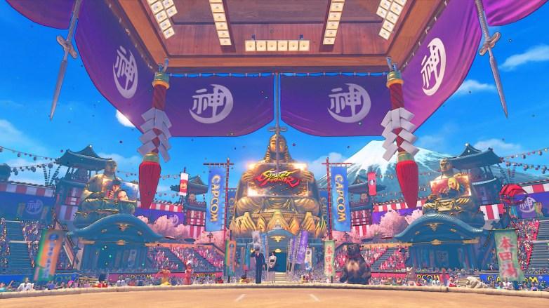 SF5 New Capcom Tour Stage