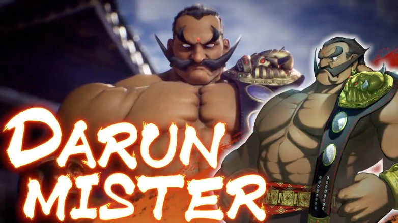Darun Mister Fighting EX Layer